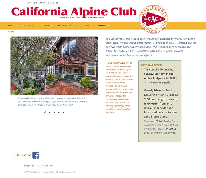 California Alpine Club